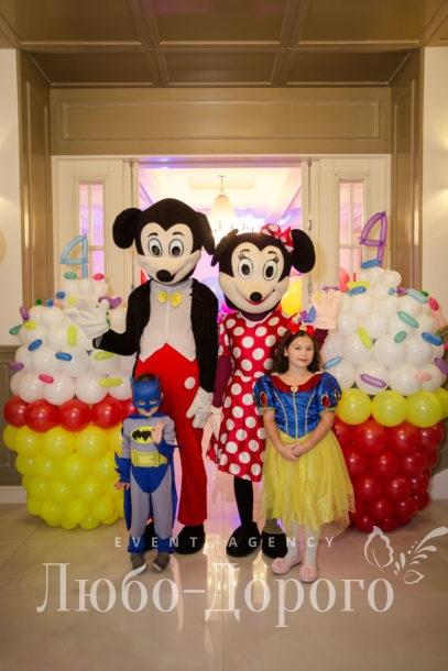 День рождения в стиле Disney
