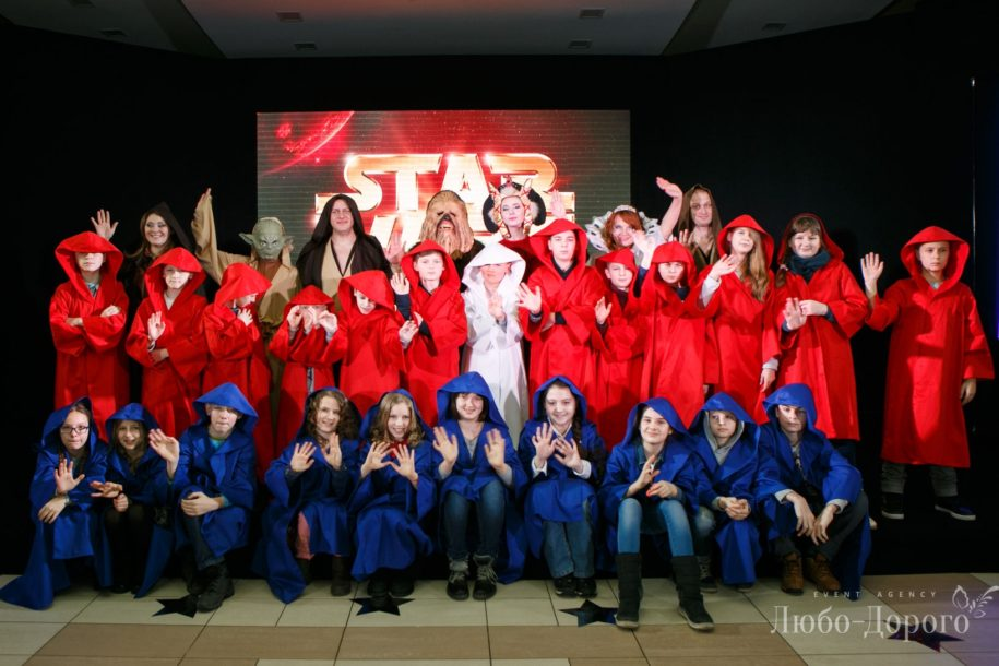 Детский праздник в стиле «Star Wars» - фото 16>