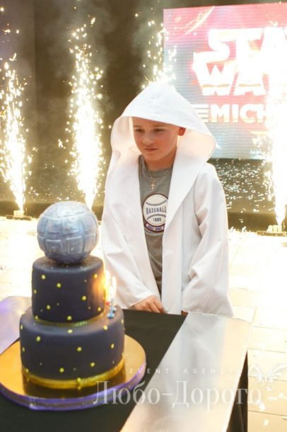 Детский праздник в стиле «Star Wars» - фото 5>