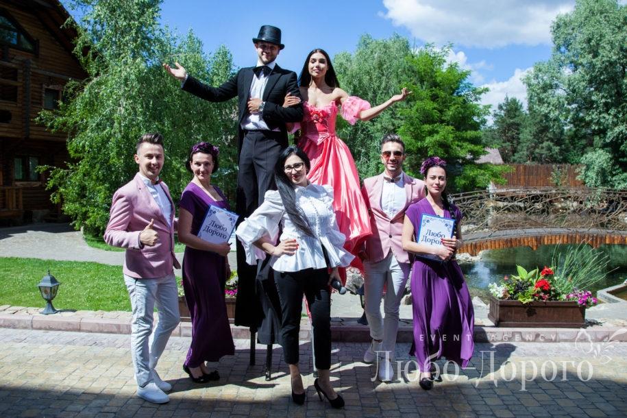 Комплексная организация свадьбы агенством Любо-Дорого