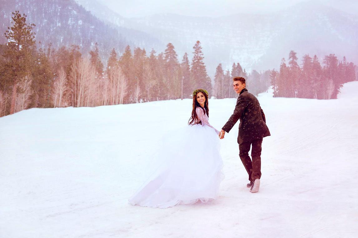 Свадьба Зимой в агентстве Любо-Дорого