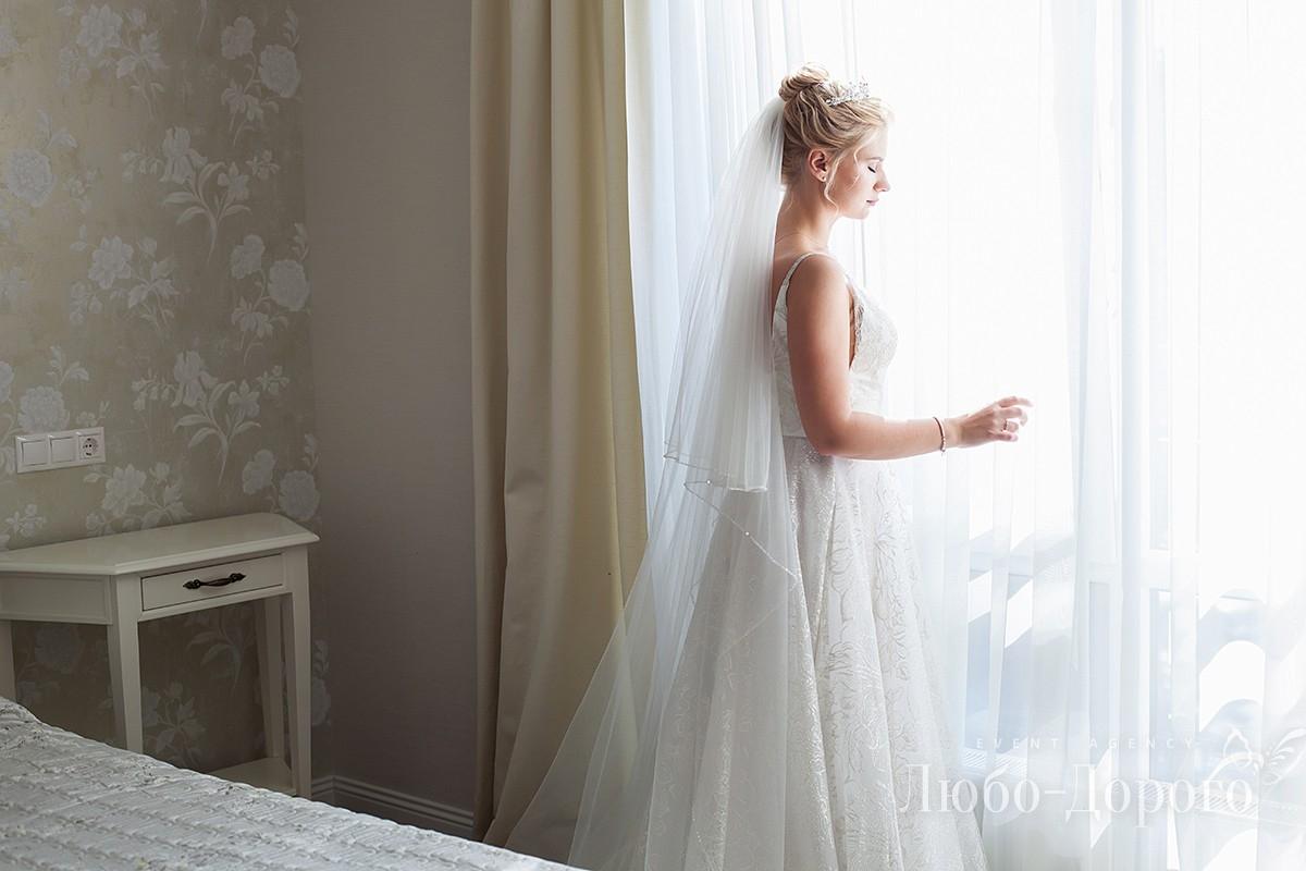Первая половина дня свадьбы