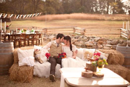 24 идеи для свадьбы в стиле Рустик