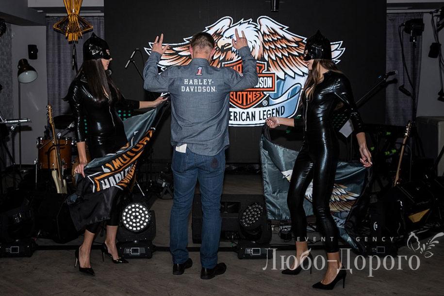 Вечеринка в стиле Harley-Davidson - фото 7>