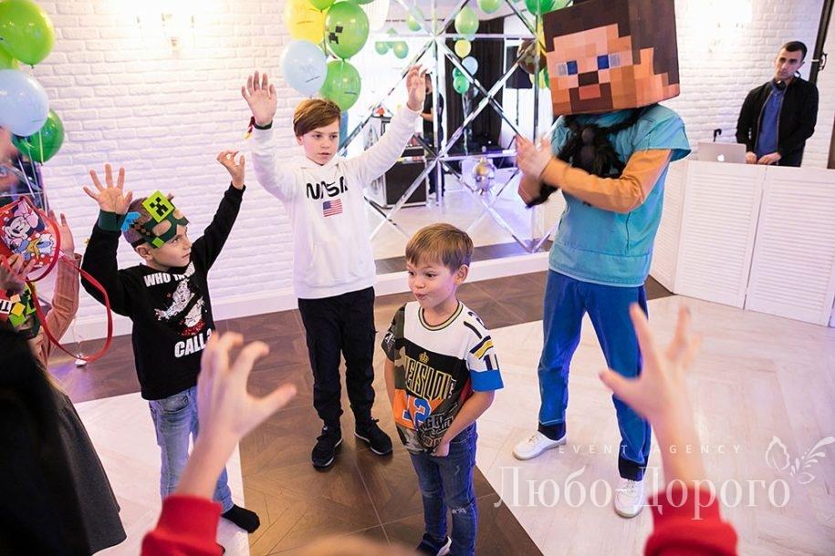 День Рождения в стиле Minecraft - фото 10>