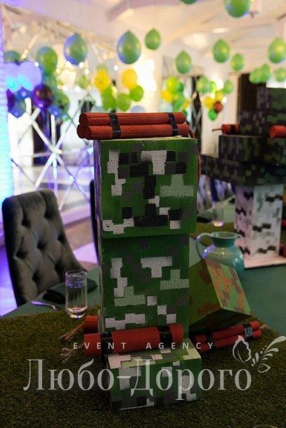 День Рождения в стиле Minecraft - фото 2>
