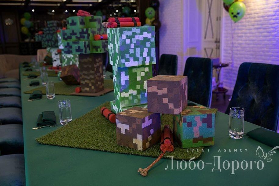День Рождения в стиле Minecraft - фото 3>