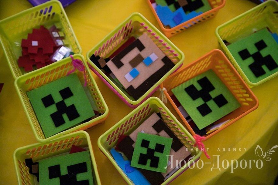 День Рождения в стиле Minecraft - фото 6>