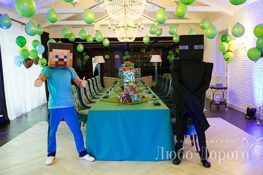 День Рождения в стиле Minecraft - фото 7>