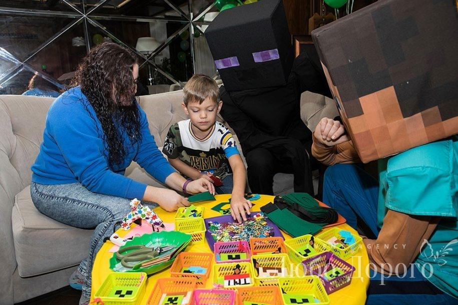 День Рождения в стиле Minecraft - фото 9>
